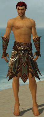 Ritualist Monument Armor M gray arms legs front.jpg