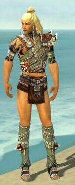Ritualist Elite Imperial Armor M gray chest feet front.jpg