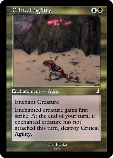 Taki's Critical Agility Magic Card.jpg