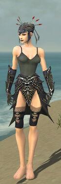Necromancer Elite Necrotic Armor F gray arms legs front.jpg