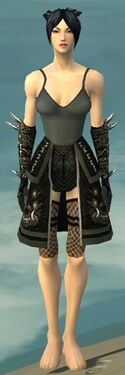 Necromancer Canthan Armor F gray arms legs front.jpg