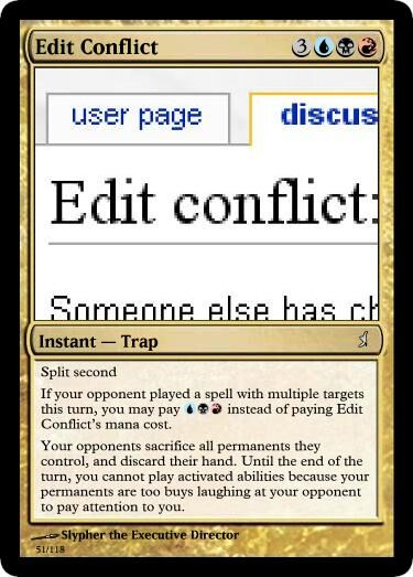 Slypher's Edit Conflict Magic Card.jpg