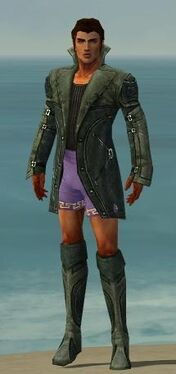 Mesmer Kurzick Armor M gray chest feet front.jpg
