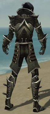 Necromancer Elite Kurzick Armor M gray back.jpg