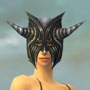 Warrior Wyvern Armor F gray head front.jpg
