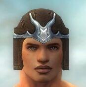 Warrior Gladiator Armor M gray head front.jpg