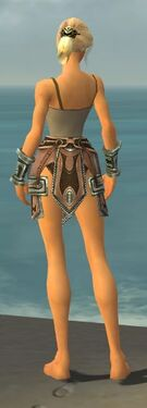 Warrior Gladiator Armor F gray arms legs back.jpg