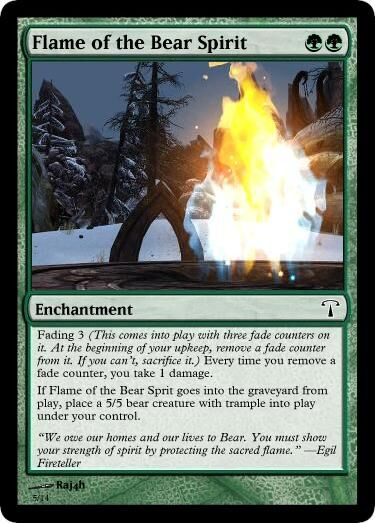 MTG Flame of the Bear Spirit.jpg