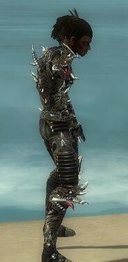 Necromancer Elite Canthan Armor M gray side.jpg
