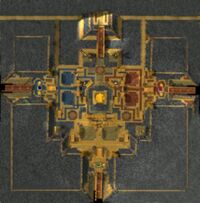 Map of the Courtyard.