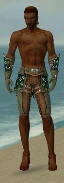 Ranger Drakescale Armor M gray arms legs front.jpg
