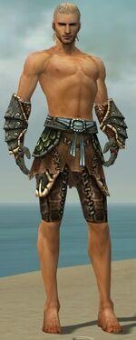 Ranger Luxon Armor M gray arms legs front.jpg