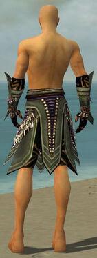 Ritualist Obsidian Armor M gray arms legs back.jpg