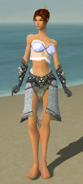 Elementalist Stoneforged Armor F gray arms legs front.jpg