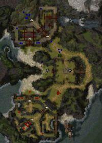 Map of Isle of Meditation