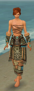Monk Elite Luxon Armor F gray arms legs front.jpg