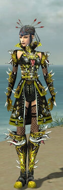 Necromancer Elite Canthan Armor F dyed front.jpg