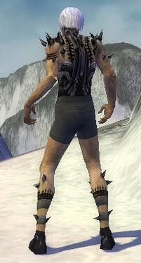 Necromancer Obsidian Armor M gray arms legs back.jpg