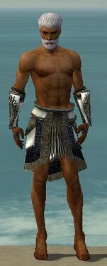 Paragon Obsidian Armor M gray arms legs front.jpg