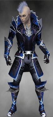 Necromancer Deldrimor Armor M dyed front.jpg