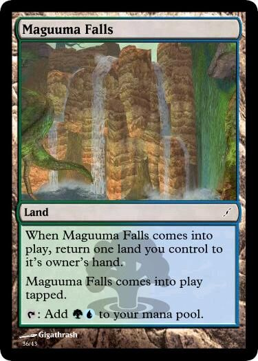 Giga's Maguuma Falls Magic Card.jpg