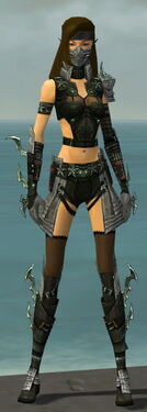 Assassin Elite Luxon Armor F gray front.jpg
