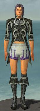 Elementalist Elite Canthan Armor M gray chest feet front.jpg