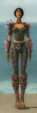 Ranger Drakescale Armor F gray front.jpg