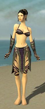 Ritualist Obsidian Armor F gray arms legs front.jpg