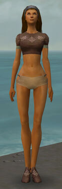 Dervish Sunspear Armor F gray chest feet front.jpg
