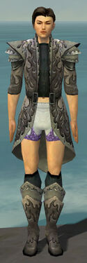 Elementalist Flameforged Armor M gray chest feet front.jpg
