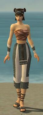 Monk Elite Saintly Armor F gray arms legs front.jpg