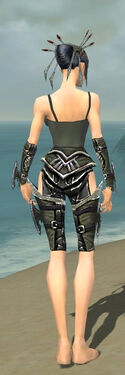 Necromancer Elite Profane Armor F gray arms legs back.jpg