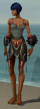 Necromancer Sunspear Armor F gray arms legs front.jpg