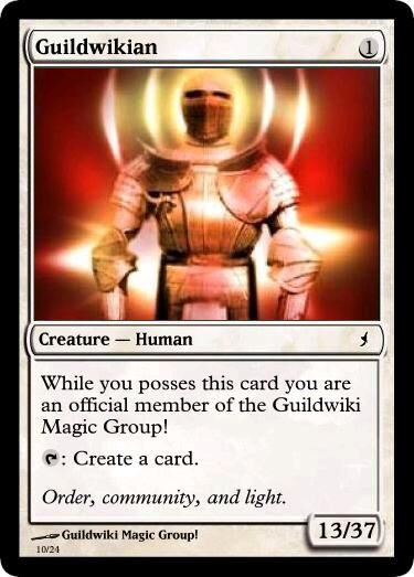 White Guildwikian Magic Card.jpg