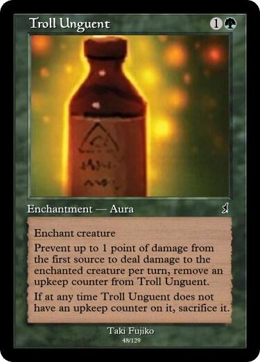 Taki's Troll Unguent Magic Card.jpg