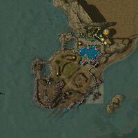Map of Isle of Solitude