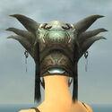 Warrior Silver Eagle Armor F gray head back.jpg