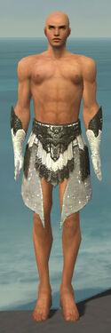 Paragon Elonian Armor M gray arms legs front.jpg