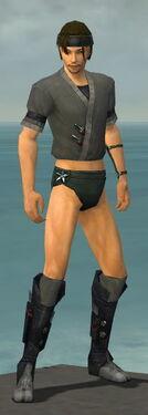 Assassin Shing Jea Armor M gray chest feet front.jpg