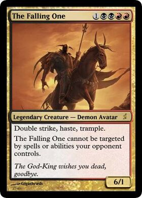 Giga's The Falling One Magic Card.jpg
