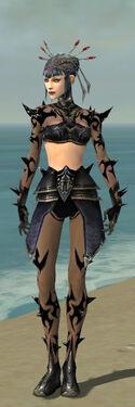 Necromancer Obsidian Armor F gray front.jpg