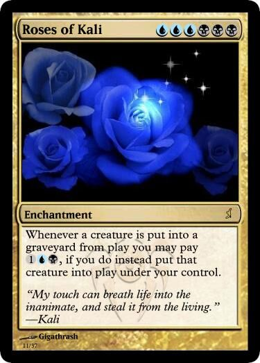 Giga's Roses of Kali Magic Card.jpg