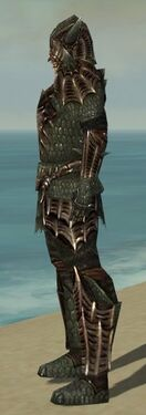 Warrior Elite Dragon Armor M gray side.jpg