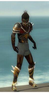 Necromancer Norn Armor M gray chest feet front.jpg