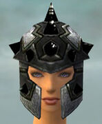 Warrior Obsidian Armor F gray head front.jpg