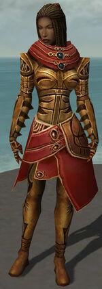 Margrid armor Remains of Sahlahja front.jpg