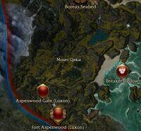 Mount Qinkai map.jpg