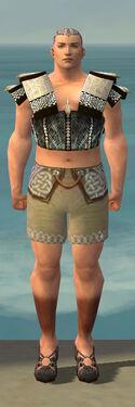 Monk Elite Sunspear Armor M gray chest feet front.jpg