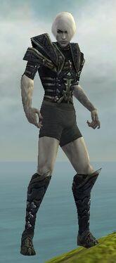 Necromancer Elite Cultist Armor M gray chest feet front.jpg